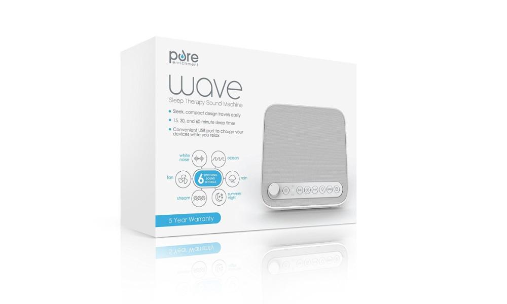 Wave Premium Sleep Therapy Sound Machine Review